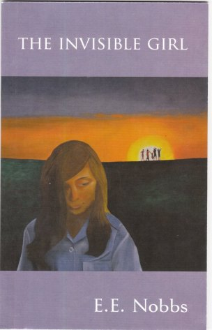 """""""The Invisible Girl"""" - front cover, oil painting by Bruce Nobbs"""