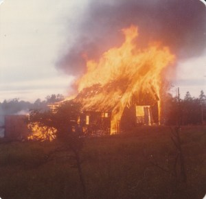 Edwin Edwards's Old Barn 1978